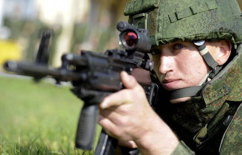 АК-12: автомат для экипировки «Ратник»