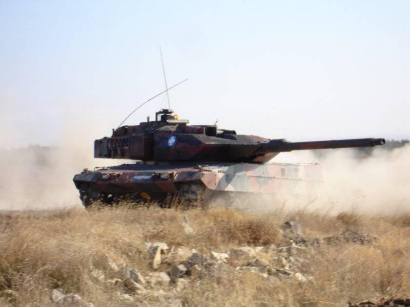 Бундесвер получил первый танк Leopard 2A7