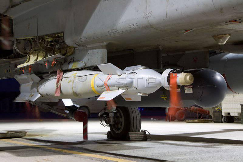 Управляемая авиационная бомба с лазерным наведением Paveway IV