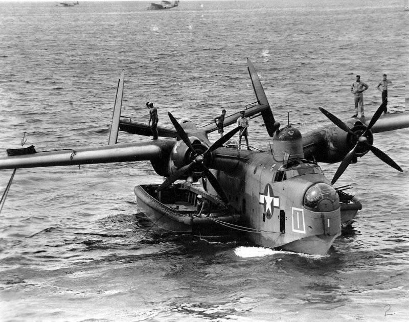 Патрульная летающая лодка Martin PBM «Mariner
