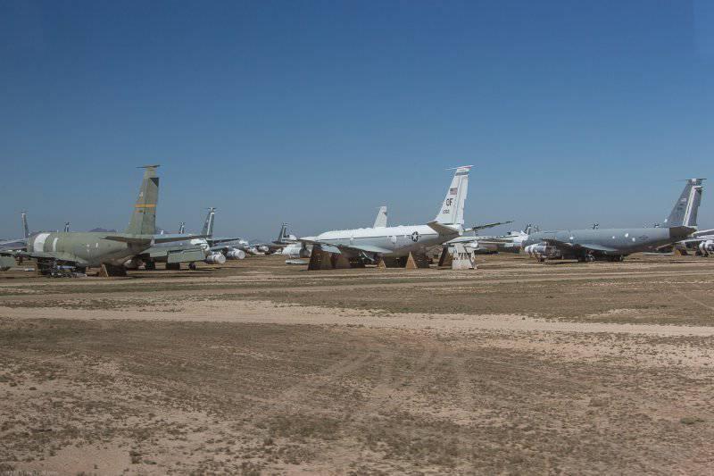 База Дэвис-Монтейн,хранилище самолетов ч.4
