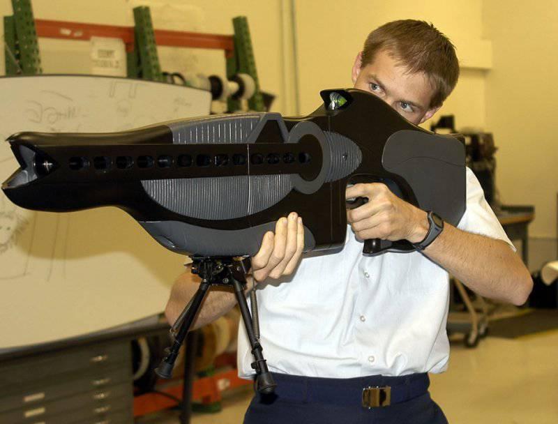 Оружие под запретом. Часть 7. Ослепляющее лазерное оружие