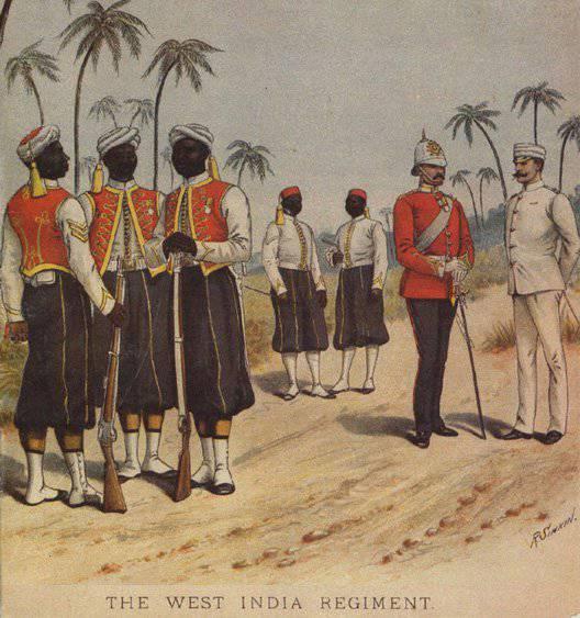 Batı Hint Adaları Alayı: Karayipler'deki İngiliz birlikleri ve modern mirasçıları