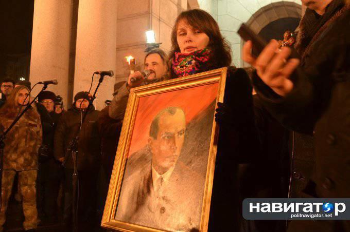 ウクライナの国家主義者たちはドネツク、セヴァストポリ、モスクワでバンデラ行進を行うと約束した