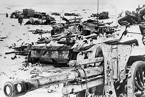 70-1941戦争における1945の大勝利の年