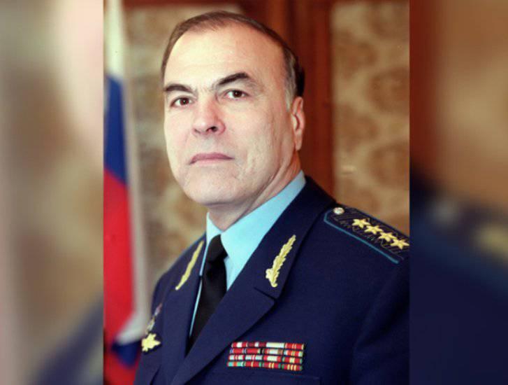 Прощание с экс-главкомом войск ПВО Виктором Прудниковым состоится 6 января