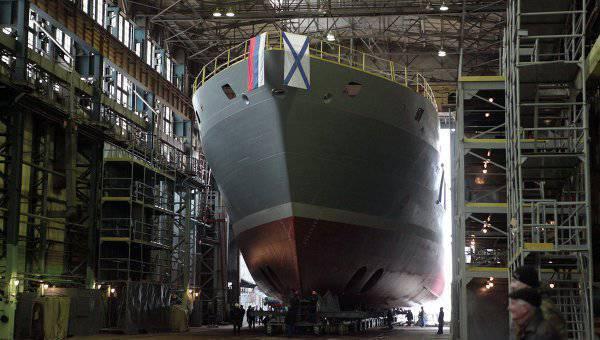 在2015中,俄罗斯海军将获得Igor Belousov海洋救援船