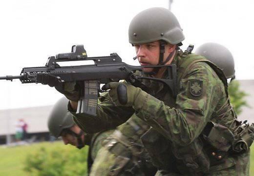 Украина получила элементы вооружения от Литвы