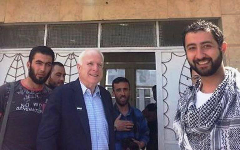 Сирия направила жалобу в ООН на незаконное посещение страны сенатором Маккейном