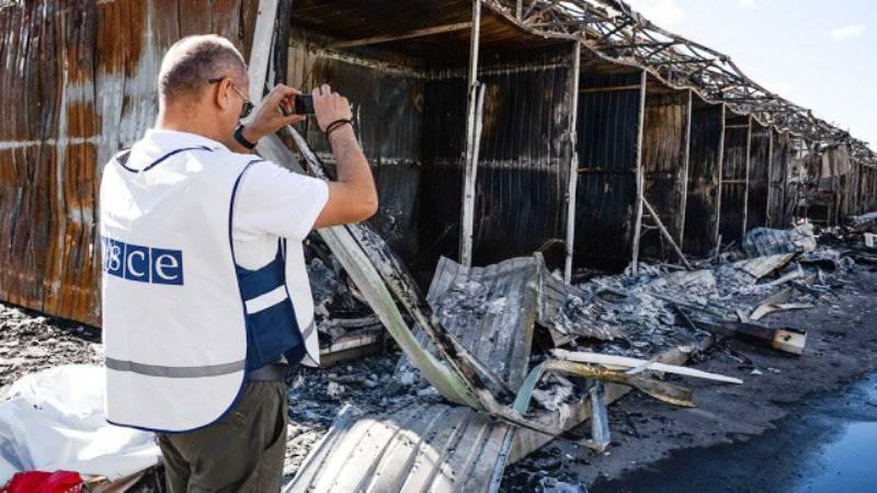 ОБСЕ: условия перемирия в ДНР не соблюдаются