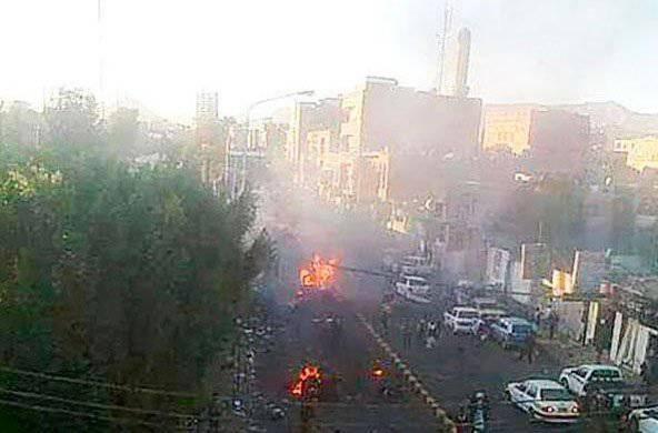 यमन की राजधानी में आतंकवादी हमला: दर्जनों की मौत