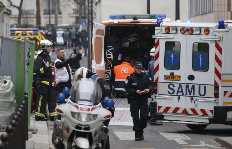 पेरिस में आतंकवाद का कार्य