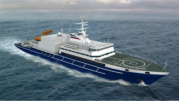 レスキュー船「イゴールベルーソフ」の海上試運転の第一段階が完了しました。