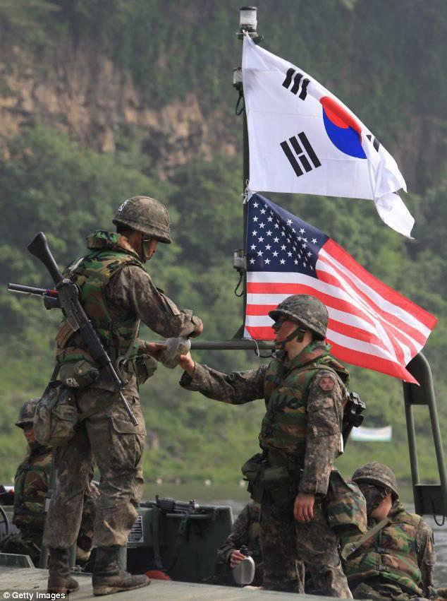Южнокорейские СМИ заявляют о планах военного вторжения северокорейской армии