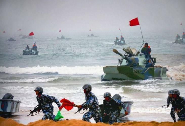 中国は水陸両用師団の数を倍増した