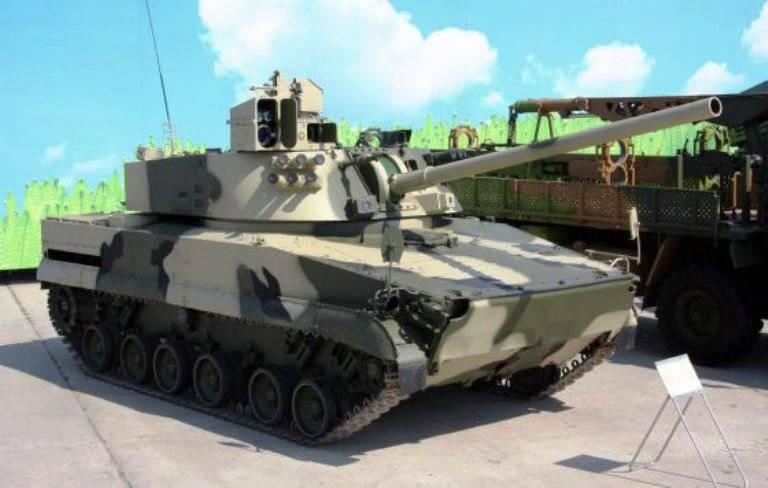 TsNIItochmashは空挺部隊のための新しい自走砲を開発しています