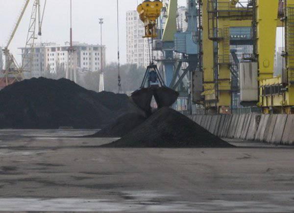 ウクライナは再び南アフリカから石炭を買う