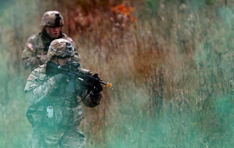 बुल्गारिया, संयुक्त राज्य अमेरिका, रोमानिया और सर्बिया के सशस्त्र बल बाल्कन में संयुक्त अभ्यास करते हैं