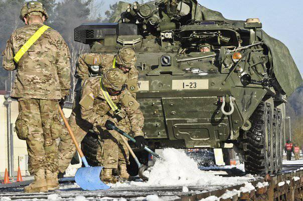 17 अमेरिकी स्ट्राइकर बख़्तरबंद कर्मियों के वाहक को लातविया में अतिरिक्त रूप से समायोजित किया जाएगा