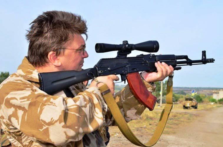 懲罰的な大隊からの殺人者はウクライナの若者に彼らの故郷を愛する方法を教えるでしょう