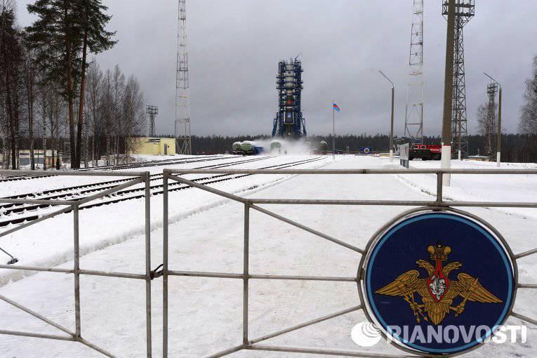Plesetsk preparado para o lançamento do satélite CEN