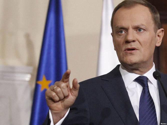टस्क: यूरोपीय संघ रूसी विरोधी नीति का पीछा नहीं करता है