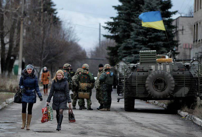 यूक्रेन में, जनसंख्या के केवल 16% स्थानों पर सरकार की उम्मीद है