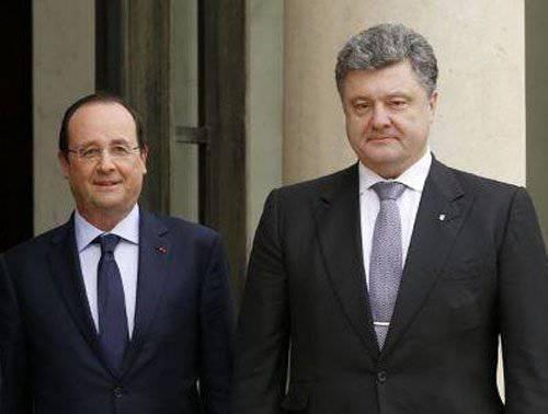 "Poroshenkoは ""March of Unity""のためにパリに集まった"