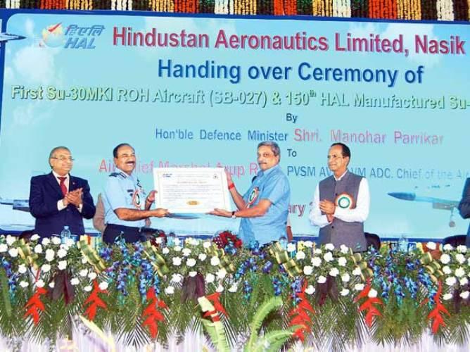 Индийское предприятие самостоятельно отремонтировало и передало ВВС первый Су-30
