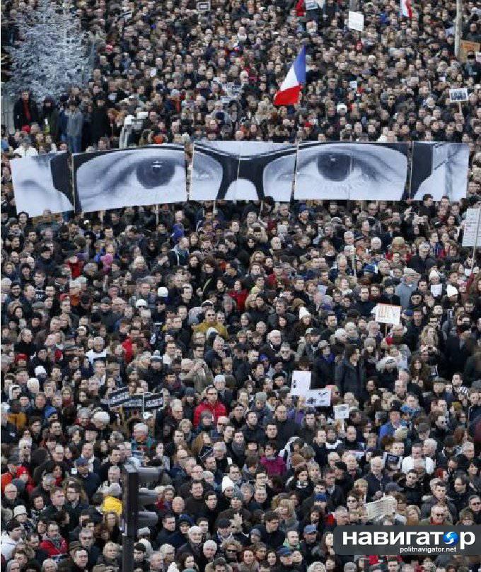 Sulla presenza di Poroshenko a Parigi nella marcia del mondo non ha scritto nessuno dei principali media occidentali