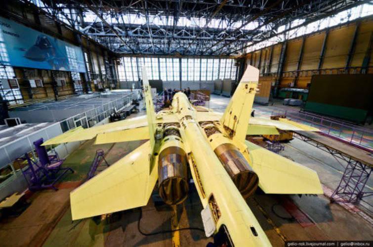 नोवोसिबिर्स्क विमान बिल्डरों ने Su-34 का उत्पादन बढ़ाया