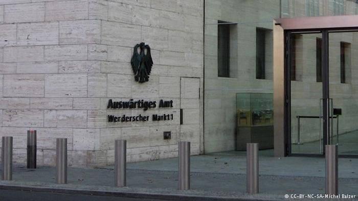 """जर्मन विदेश मंत्रालय ने अभी भी """"जर्मनी और यूक्रेन में यूएसएसआर के आक्रमण"""" के बारे में यात्सेनुक के बयानों पर टिप्पणी की थी।"""