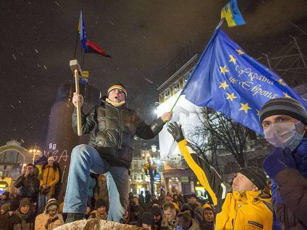セルゲイベロフ。 ばかになることを恥ずかしい? Evromechtaウクライナ人は叶い始めています