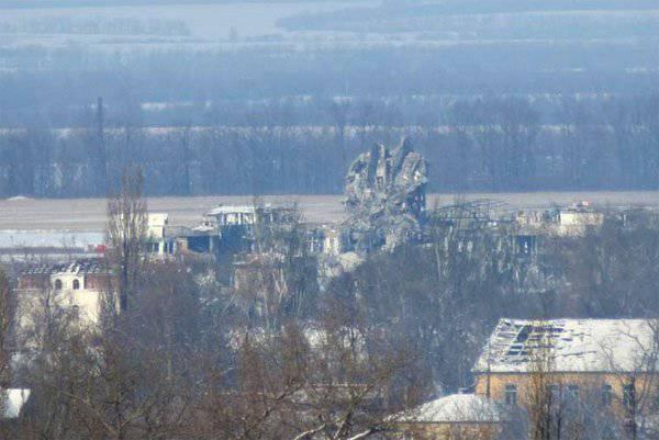 メディア:DPR民兵は、ドネツク空港の領土全体を管理するための作戦を開始しました
