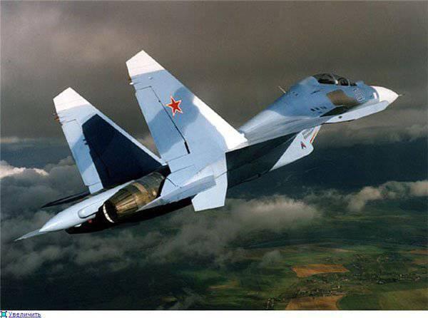 Su-30戦闘機はサービス海軍航空黒海艦隊に入った