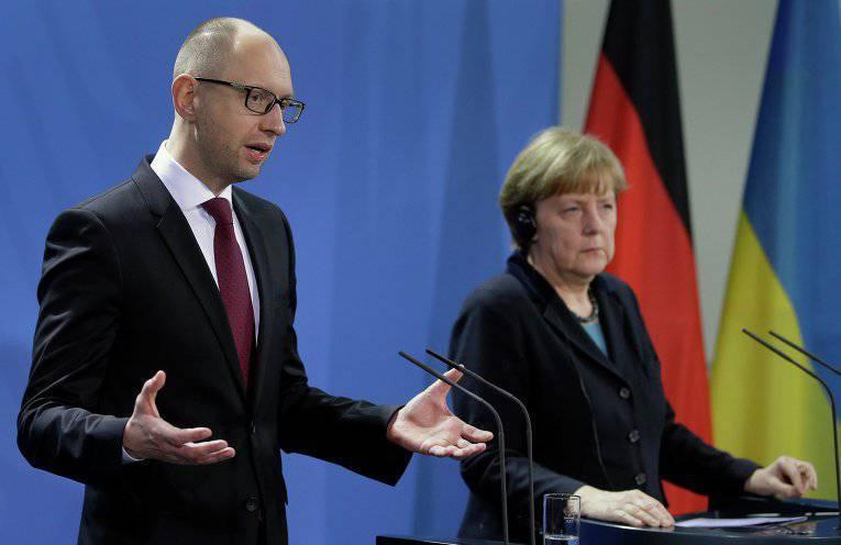"""यूक्रेनी विकल्प"": प्रधान मंत्री यात्सेनुक यूरोपीय संघ को धोखा देता है"