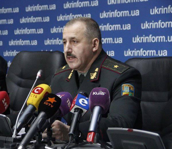 """Украинский генерал рассказал о возможном призыве женщин в ВСУ и изъятии частных транспортных средств для нужд """"АТО"""""""