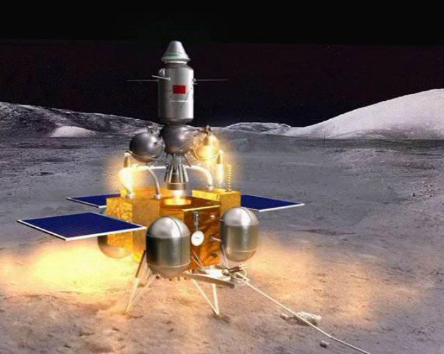 中国は月面着陸に近づいている