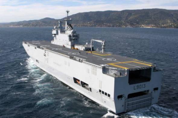मार्च में, रूसी नाविक पहला मिस्ट्रल प्राप्त करने के लिए फ्रांस लौट सकते हैं