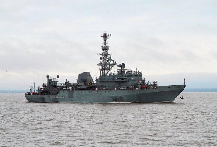 「ユーリ・イワノフ」がロシア艦隊に移籍