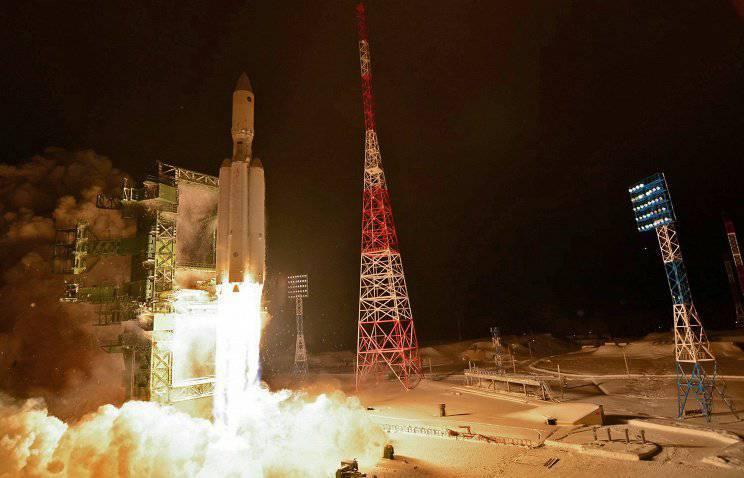 """परियोजना """"सी लॉन्च"""" में यूक्रेनी रॉकेट """"जेनिथ"""" के स्थान पर रूसी """"अंगारा"""" डाल दिया।"""