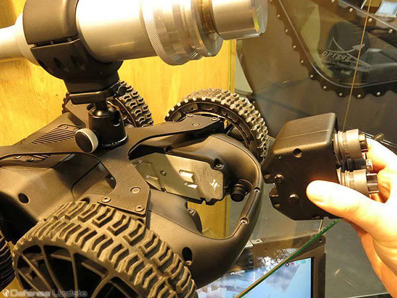 Robots au sol. Des systèmes de largage aux convois sans équipage (partie de 1)