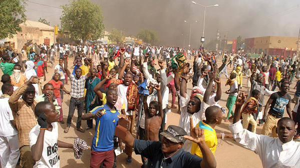 关于尼日尔发生的事件以及格罗兹尼即将抗议先知穆罕默德漫画的出版