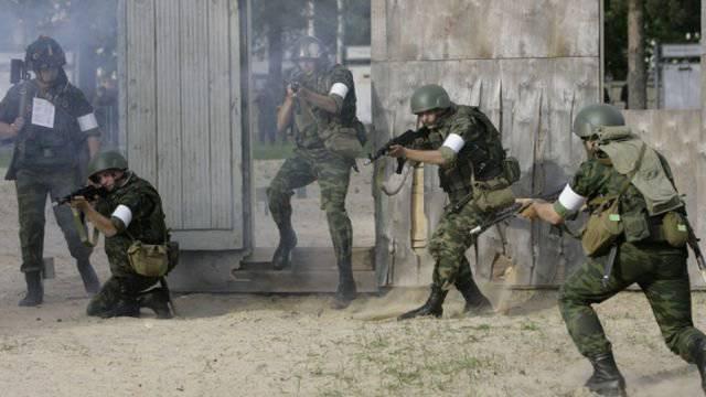 O centro de treinamento de combate em Mulino tomará as forças armadas em fevereiro 2015