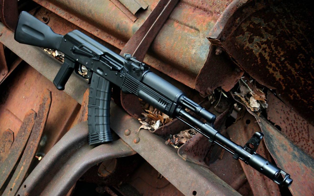 схема скорострельного оружия