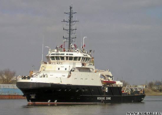 Pruebas del barco de rescate Profesor Nikolai Muru completado
