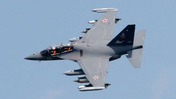 Base aérea Armavir recebeu o primeiro lote de aviões de treinamento de combate Yak-130