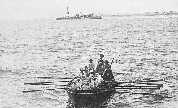 В этот день… 9 октября – 3 «Эмден», Мюллер, октября, история, крейсер, связи, более, Харви, случае, противником, правда, уцелеет, вернётся, плена, 1918м, наградят, Интересно, корабль, посмертно, удостоят
