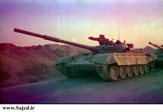 T-72 were the best tanks of the Iran-Iraq war
