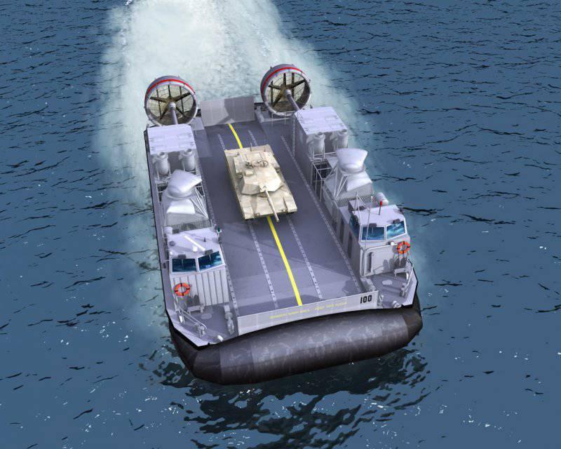 Развитие десантно-высадочных средств от корабля к берегу